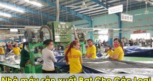 nhà xưởng sản xuất bạt các loại
