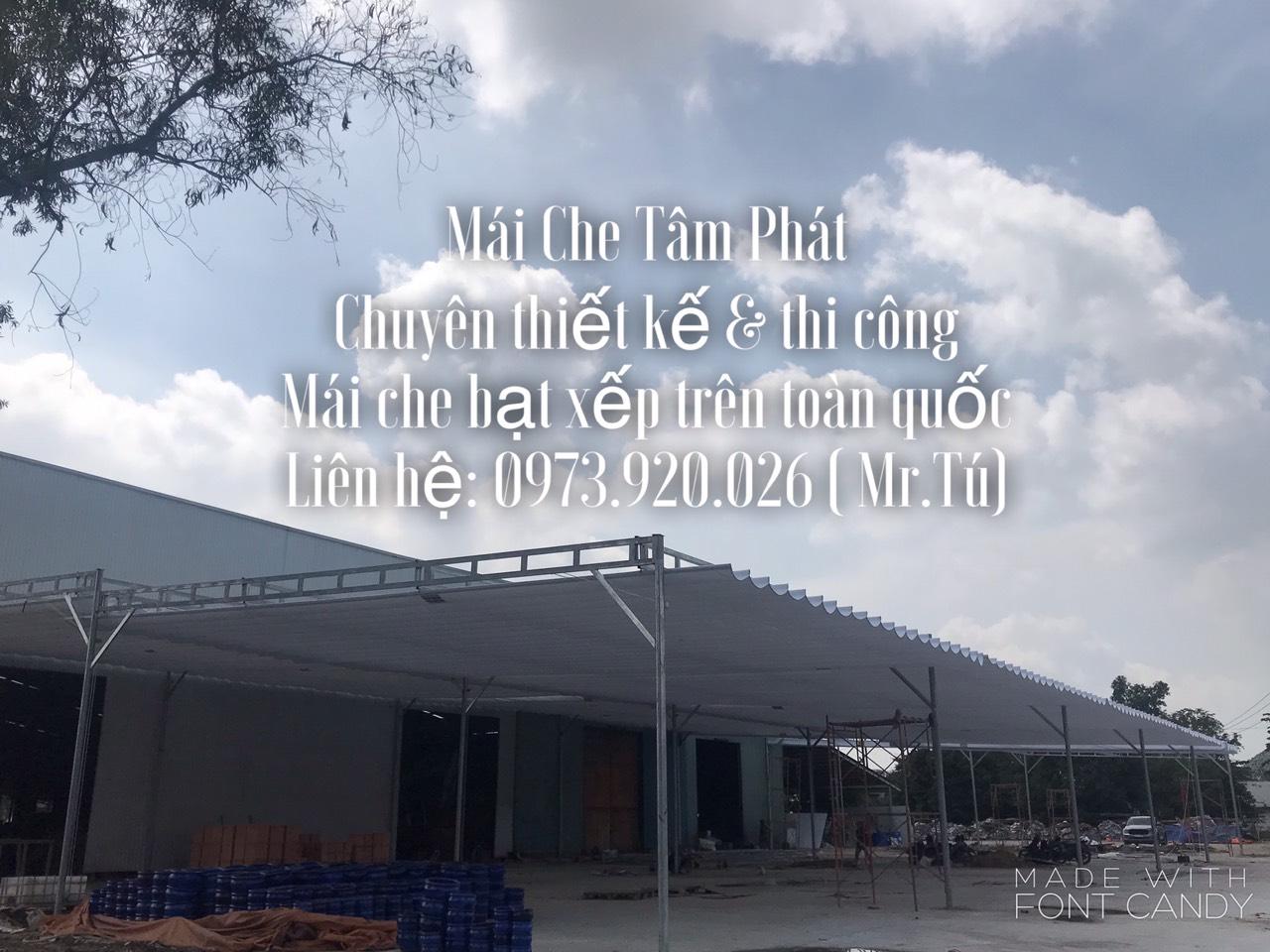 mái che nhà xưởng Tâm Phát